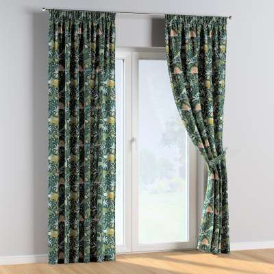 Pencil pleat curtains in collection Magic Collection, fabric: 500-20