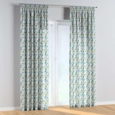 Vorhang mit Kräuselband 1 Stck. 500-21 ecru-grün Kollektion Magic Collection