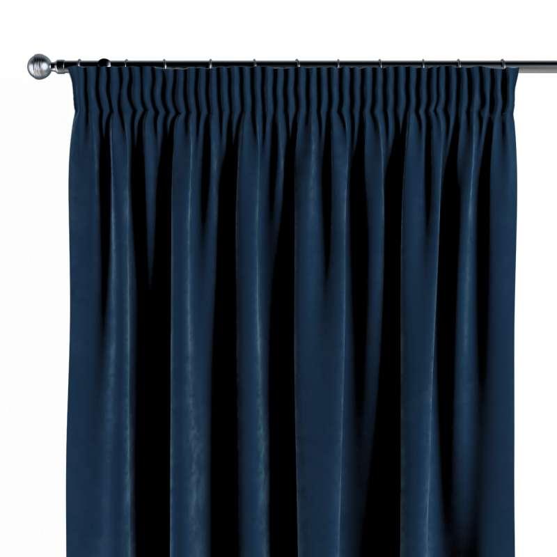 Vorhang mit Kräuselband von der Kollektion Velvet, Stoff: 704-29
