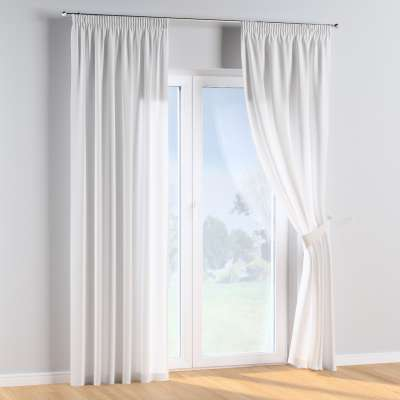 Pencil pleat curtains in collection Happiness, fabric: 133-02