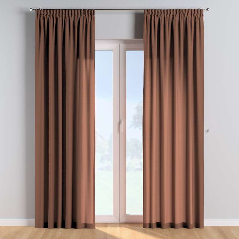 Pencil pleat curtains in collection Happiness, fabric: 133-09