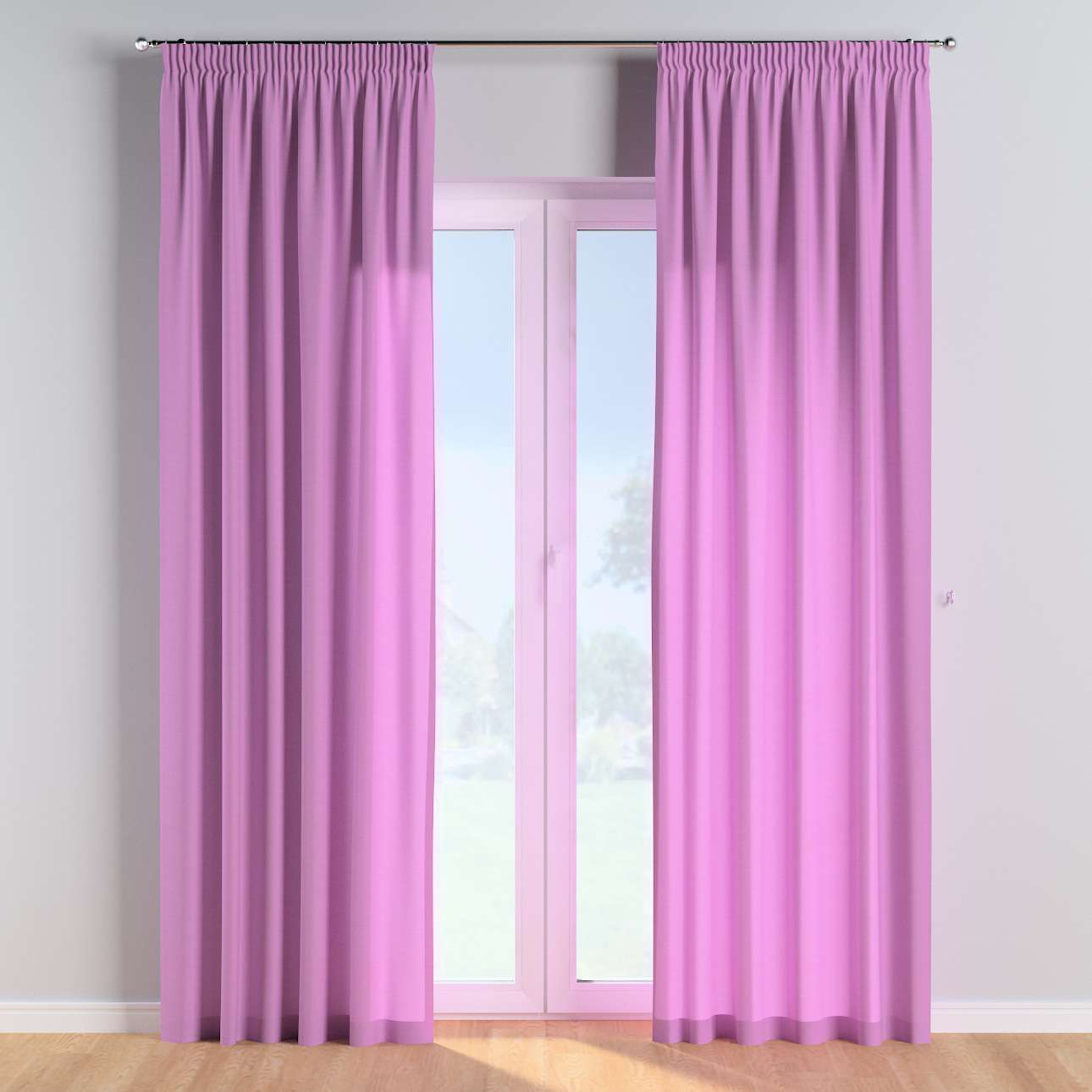 Pencil pleat curtains in collection Happiness, fabric: 133-38