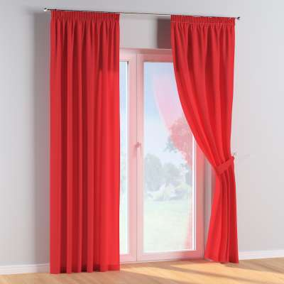 Pencil pleat curtains in collection Happiness, fabric: 133-43