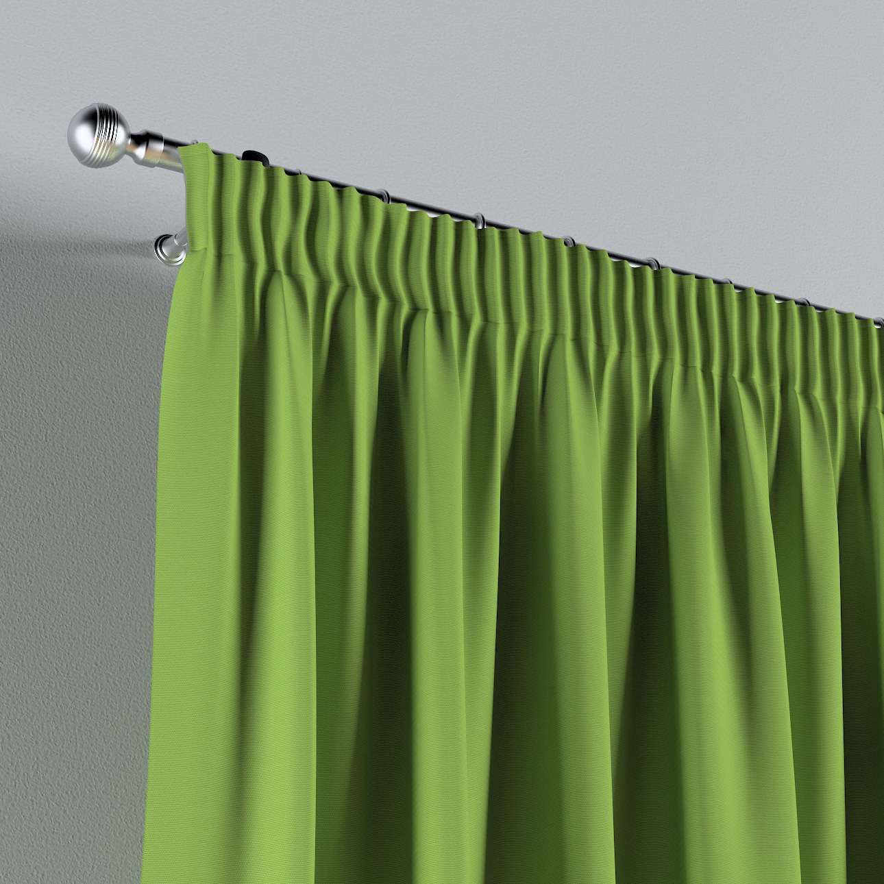 Pencil pleat curtains in collection Cotton Story, fabric: 702-27