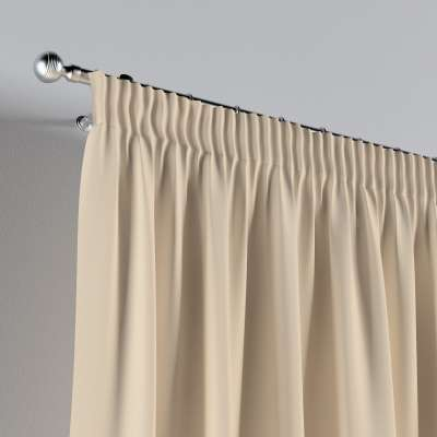 Pencil pleat curtains in collection Cotton Story, fabric: 702-29