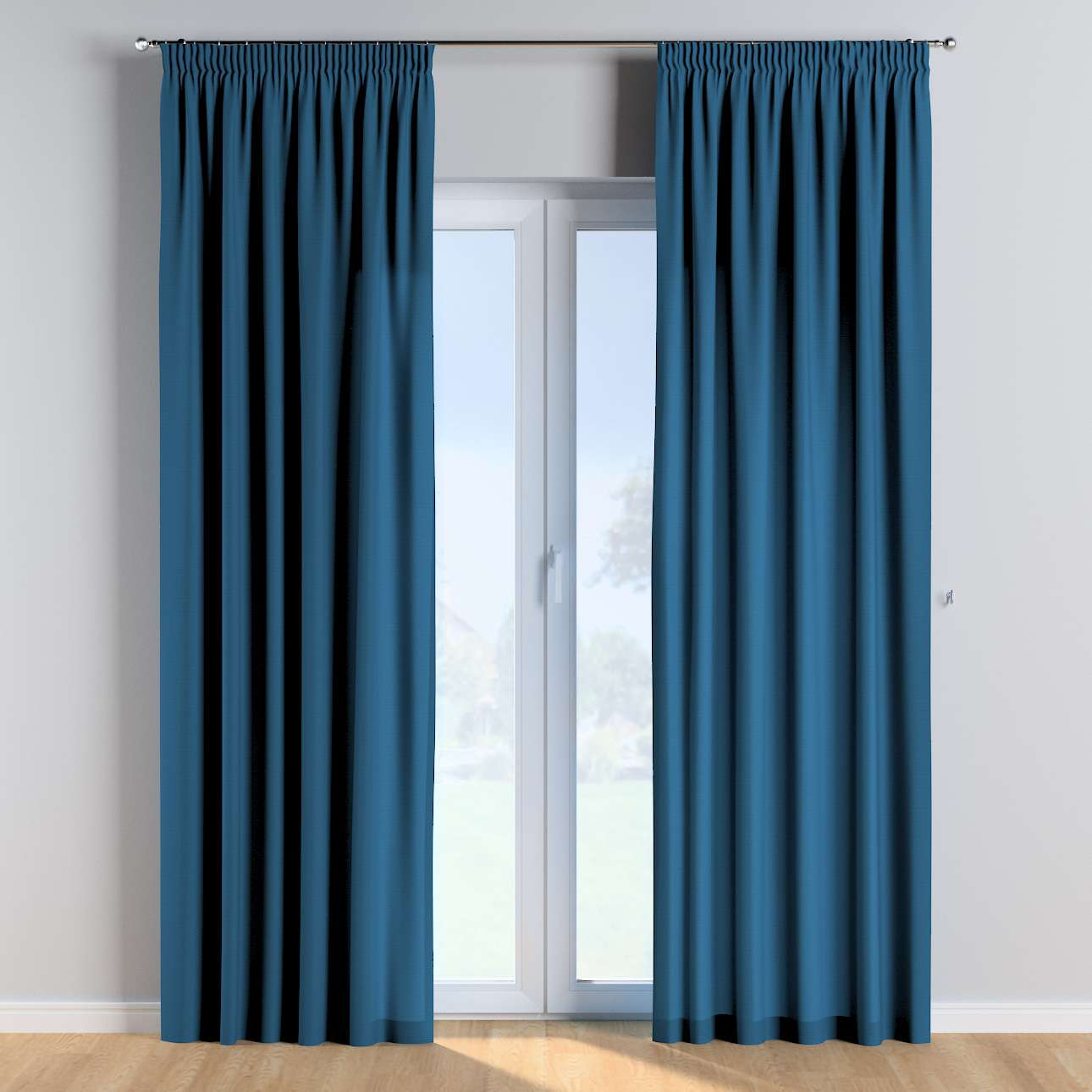 Pencil pleat curtains in collection Cotton Story, fabric: 702-30