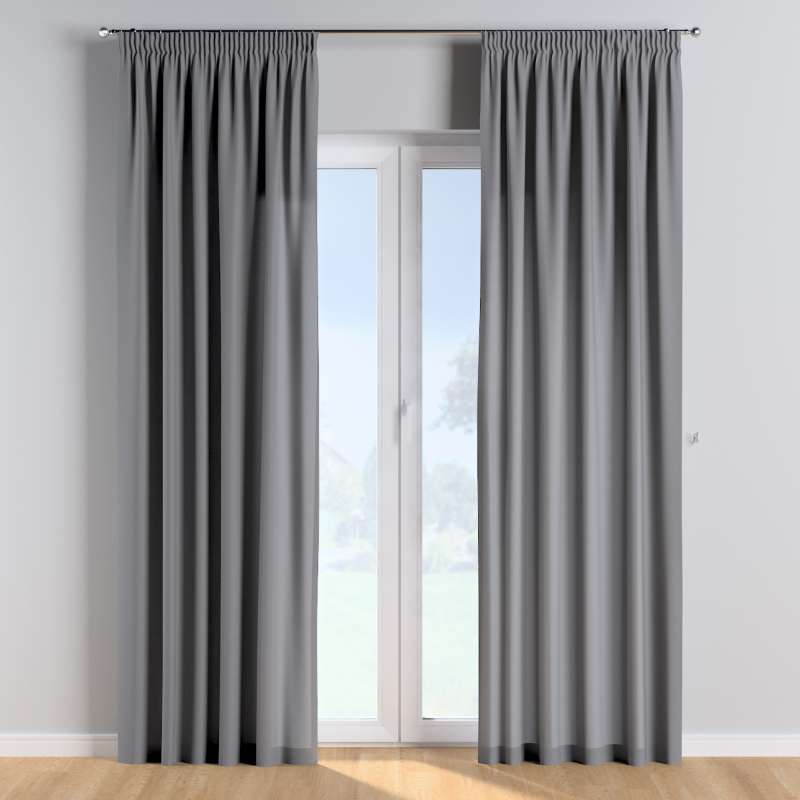 Pencil pleat curtains in collection Cotton Story, fabric: 702-07