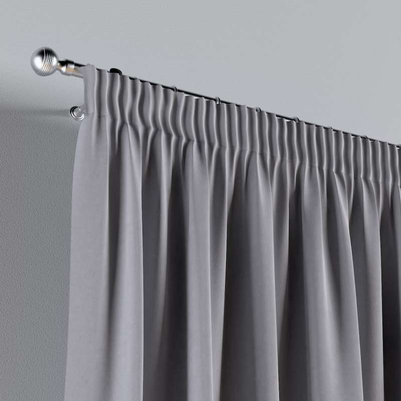 Vorhang mit Kräuselband 1 Stck. von der Kollektion Posh Velvet, Stoff: 704-24