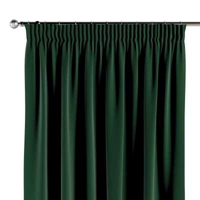 Vorhang mit Kräuselband 1 Stck. 704-13 grün Kollektion Posh Velvet