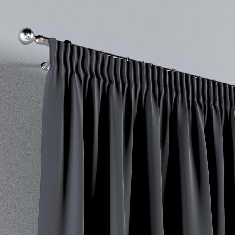 Vorhang mit Kräuselband 1 Stck. von der Kollektion Posh Velvet, Stoff: 704-12