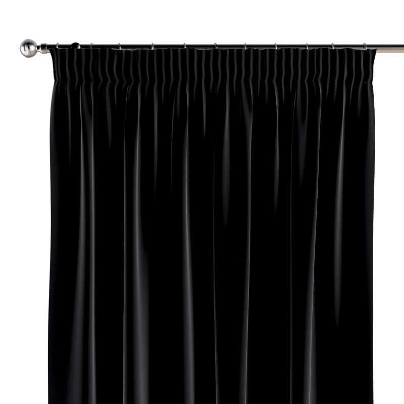 Vorhang mit Kräuselband 1 Stck. von der Kollektion Posh Velvet, Stoff: 704-17