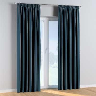 Vorhang mit Kräuselband 1 Stck. 704-16 blau Kollektion Posh Velvet