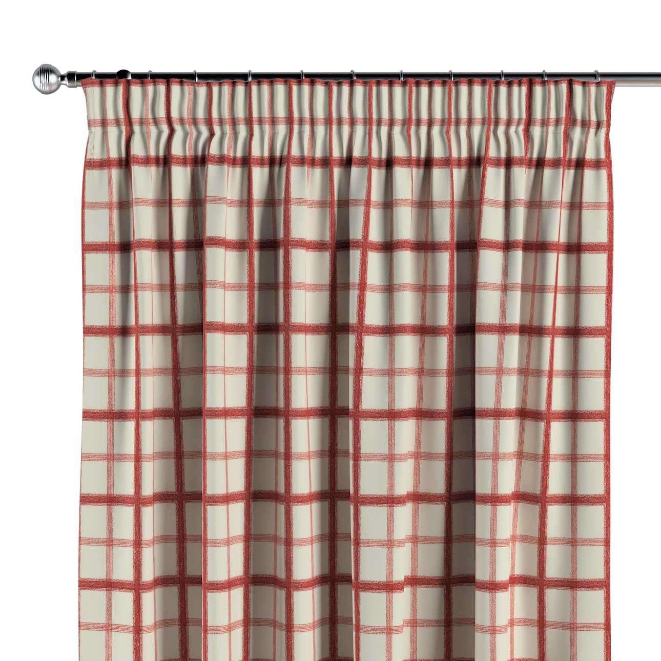 Vorhang mit Kräuselband von der Kollektion Avinon, Stoff: 131-15
