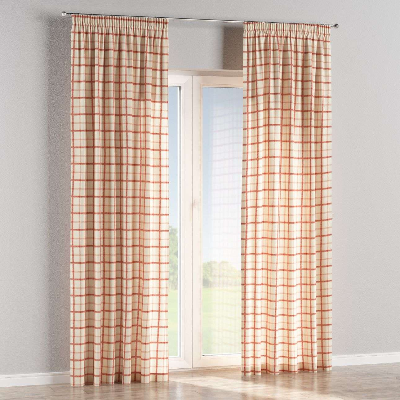 Pencil pleat curtains 130 x 260 cm (51 x 102 inch) in collection Avinon, fabric: 131-15
