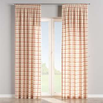 Pencil pleat curtains in collection Avinon, fabric: 131-15