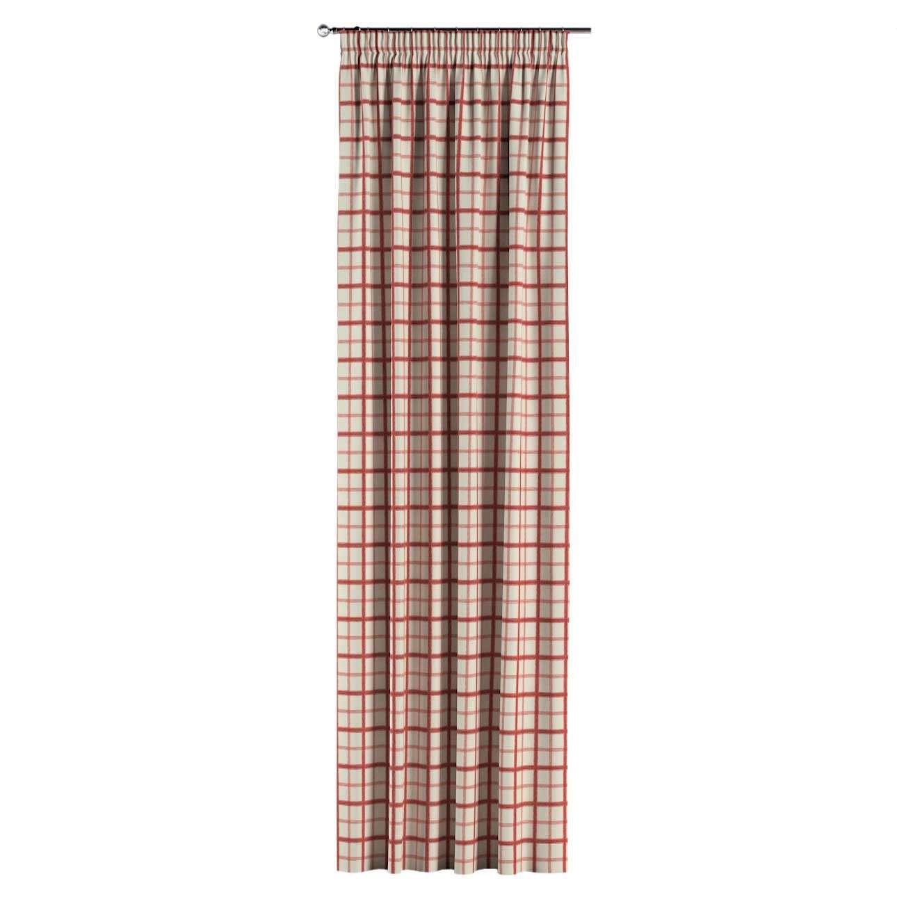 Vorhang mit Kräuselband 1 Stck. 130 x 260 cm von der Kollektion Avinon, Stoff: 131-15