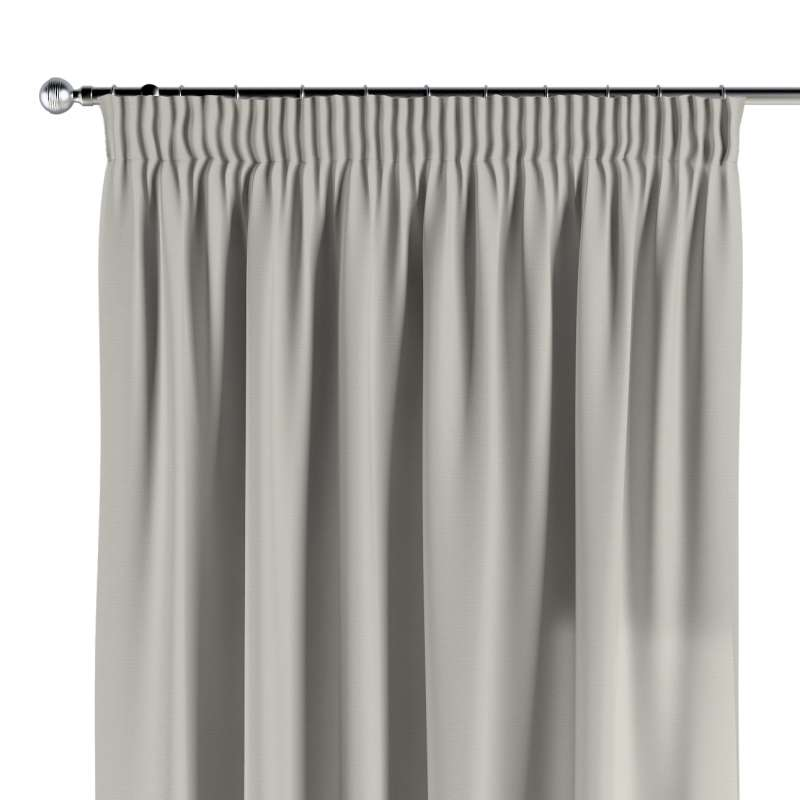 Pencil pleat curtains in collection Cotton Story, fabric: 702-31