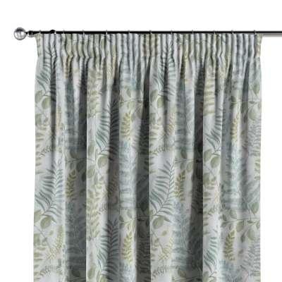 Vorhang mit Kräuselband 142-46 grün Kollektion Tropical Island