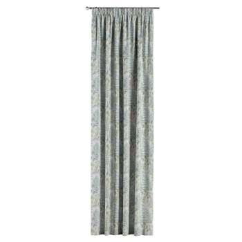 Závěs s řasící páskou v kolekci Pastel Forest, látka: 142-46