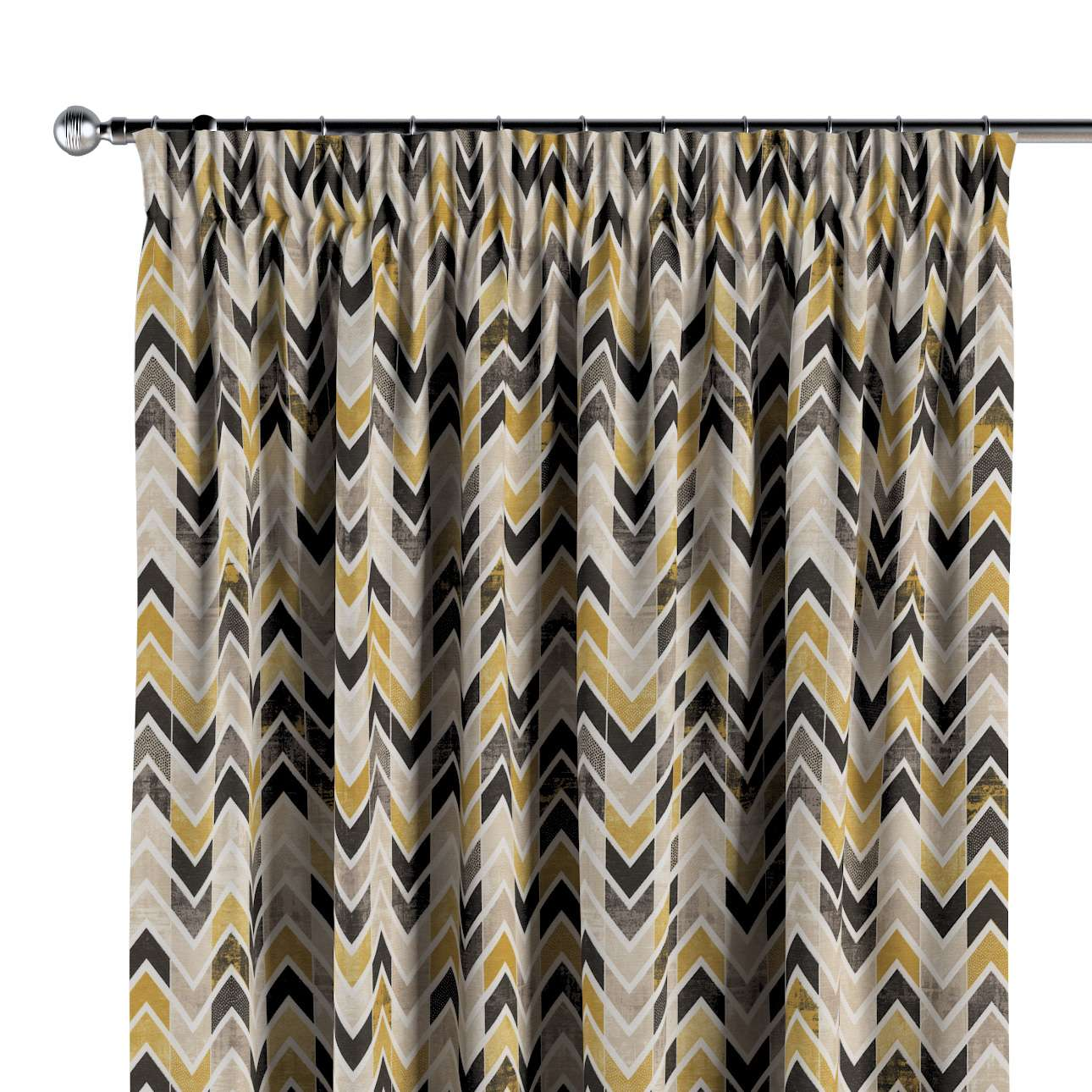 Pencil pleat curtains in collection Modern, fabric: 142-79