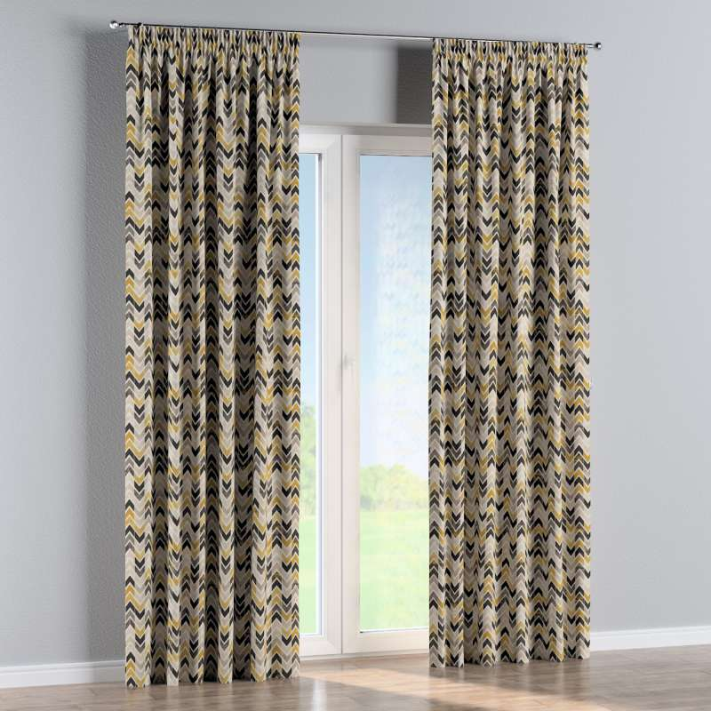 Pencil pleat curtain in collection Modern, fabric: 142-79
