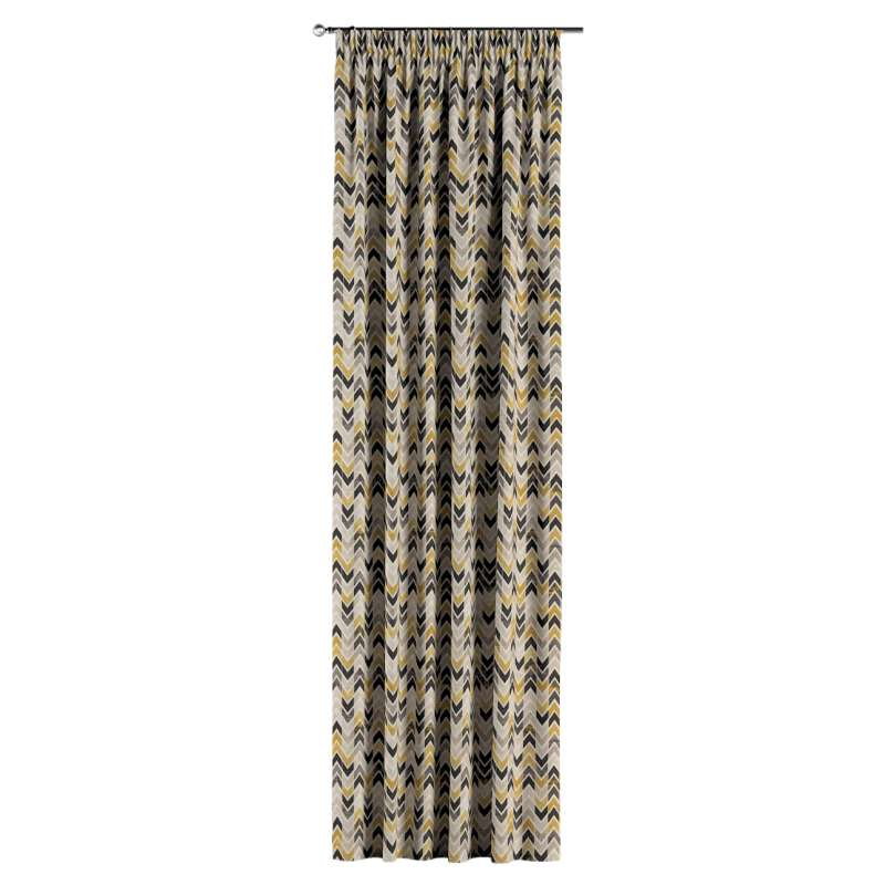 Zasłona na taśmie marszczącej 1 szt. w kolekcji Modern, tkanina: 142-79