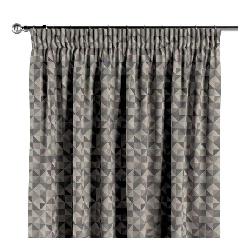 Függöny ráncolóval a kollekcióból Retro Glam szövet kollekció, Dekoranyag: 142-84