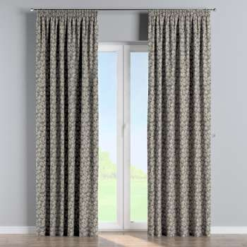 Pencil pleat curtains in collection Retro Glam, fabric: 142-84