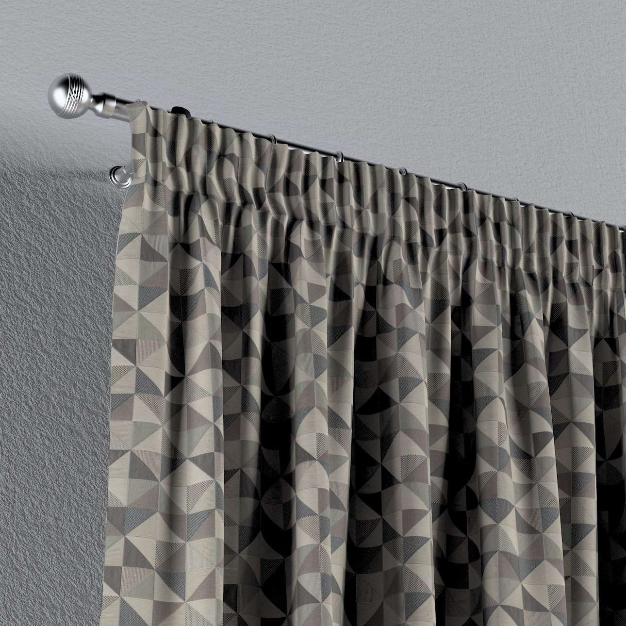 Vorhang mit Kräuselband von der Kollektion SALE, Stoff: 142-84