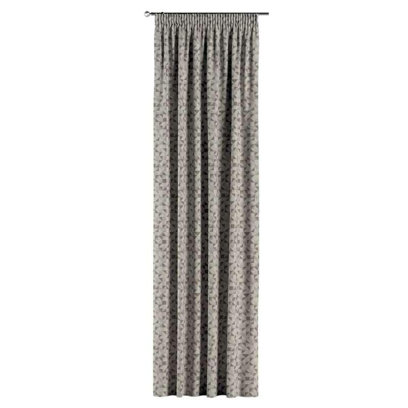 Vorhang mit Kräuselband von der Kollektion Retro Glam, Stoff: 142-85