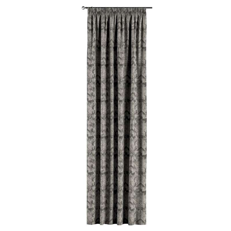 Pencil pleat curtains in collection Retro Glam, fabric: 142-88