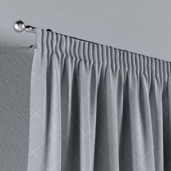 Pencil pleat curtains in collection Venice, fabric: 142-57
