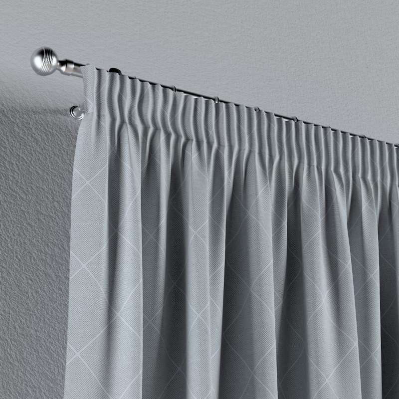 Pencil pleat curtain in collection Venice, fabric: 142-57