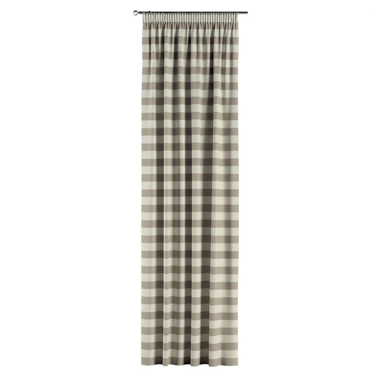 Záves na riasiacej páske V kolekcii Quadro, tkanina: 142-73