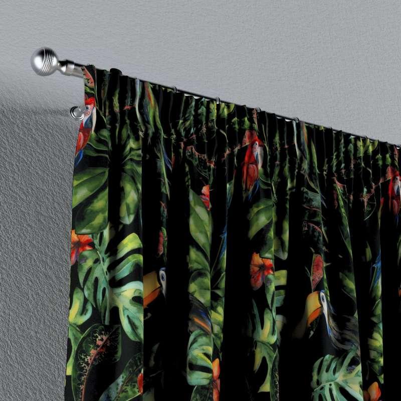 Függöny ráncolóval a kollekcióból Velvet  Lakástextil, Dekoranyag: 704-28