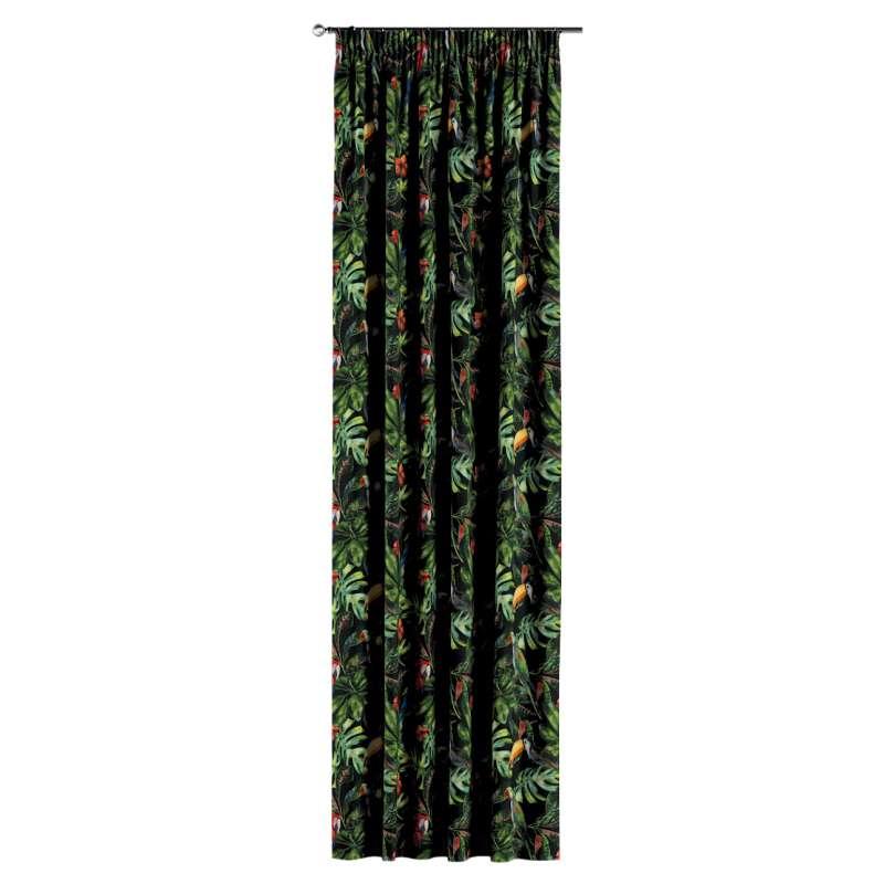 Záves na riasiacej páske V kolekcii Velvet, tkanina: 704-28