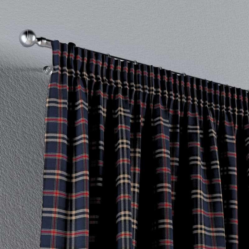 Záves na riasiacej páske V kolekcii Bristol, tkanina: 142-68