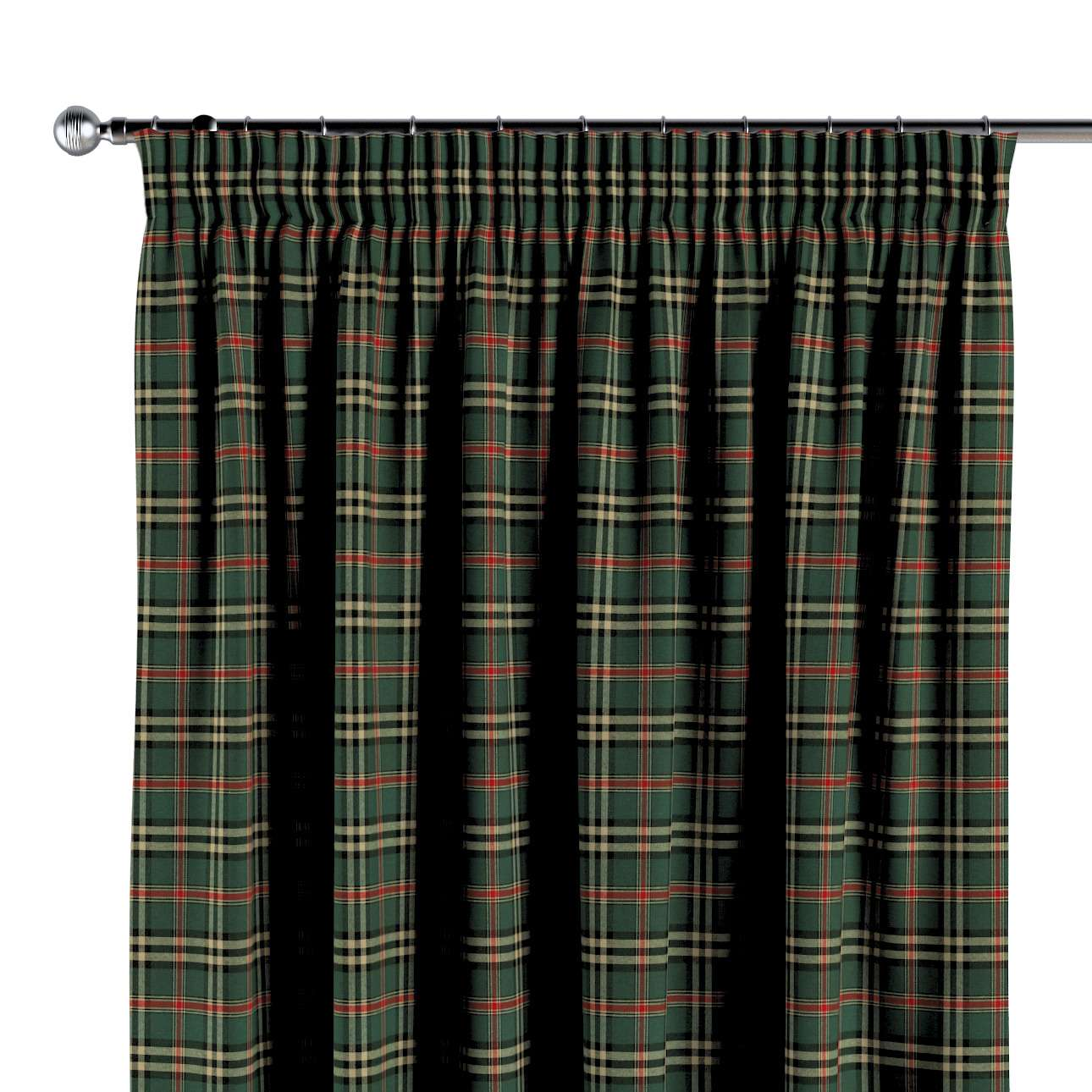 Vorhang mit Kräuselband von der Kollektion Bristol, Stoff: 142-69