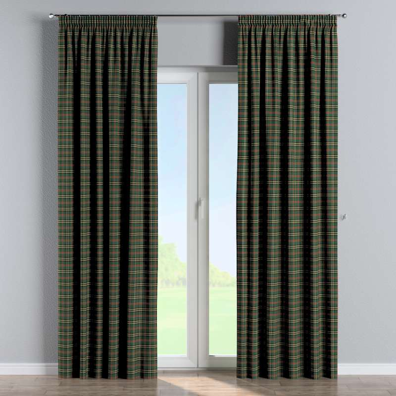 Pencil pleat curtain in collection Bristol, fabric: 142-69