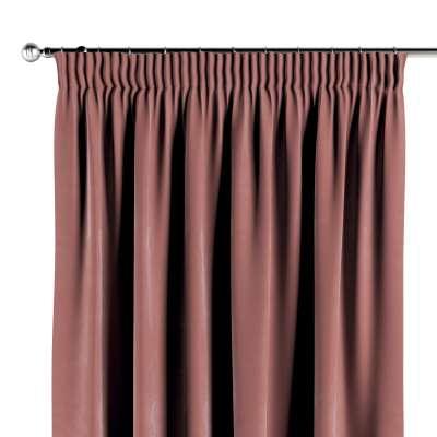 Pencil pleat curtain 704-30 Collection Velvet