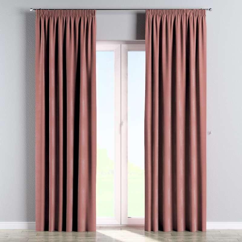 Vorhang mit Kräuselband von der Kollektion Velvet, Stoff: 704-30