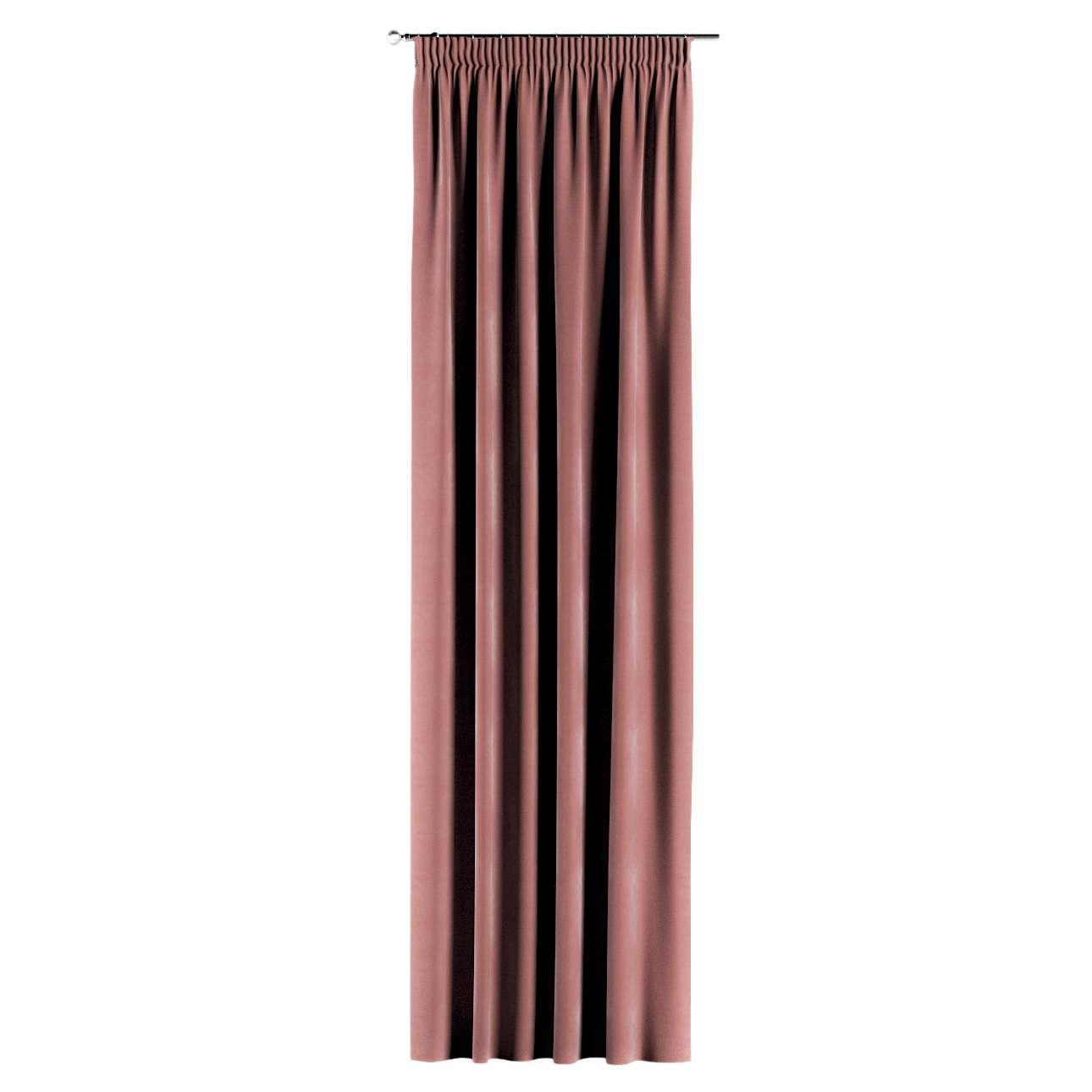 Záves na riasiacej páske V kolekcii Velvet, tkanina: 704-30