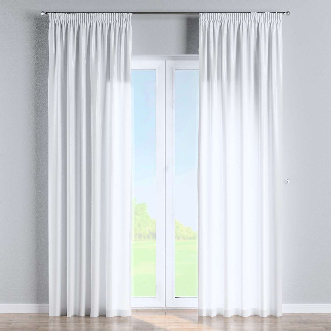 Pencil pleat curtains in collection Christmas, fabric: 141-78