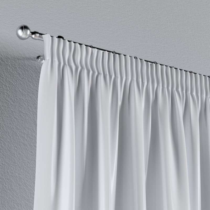 Pencil pleat curtain in collection Christmas, fabric: 141-78