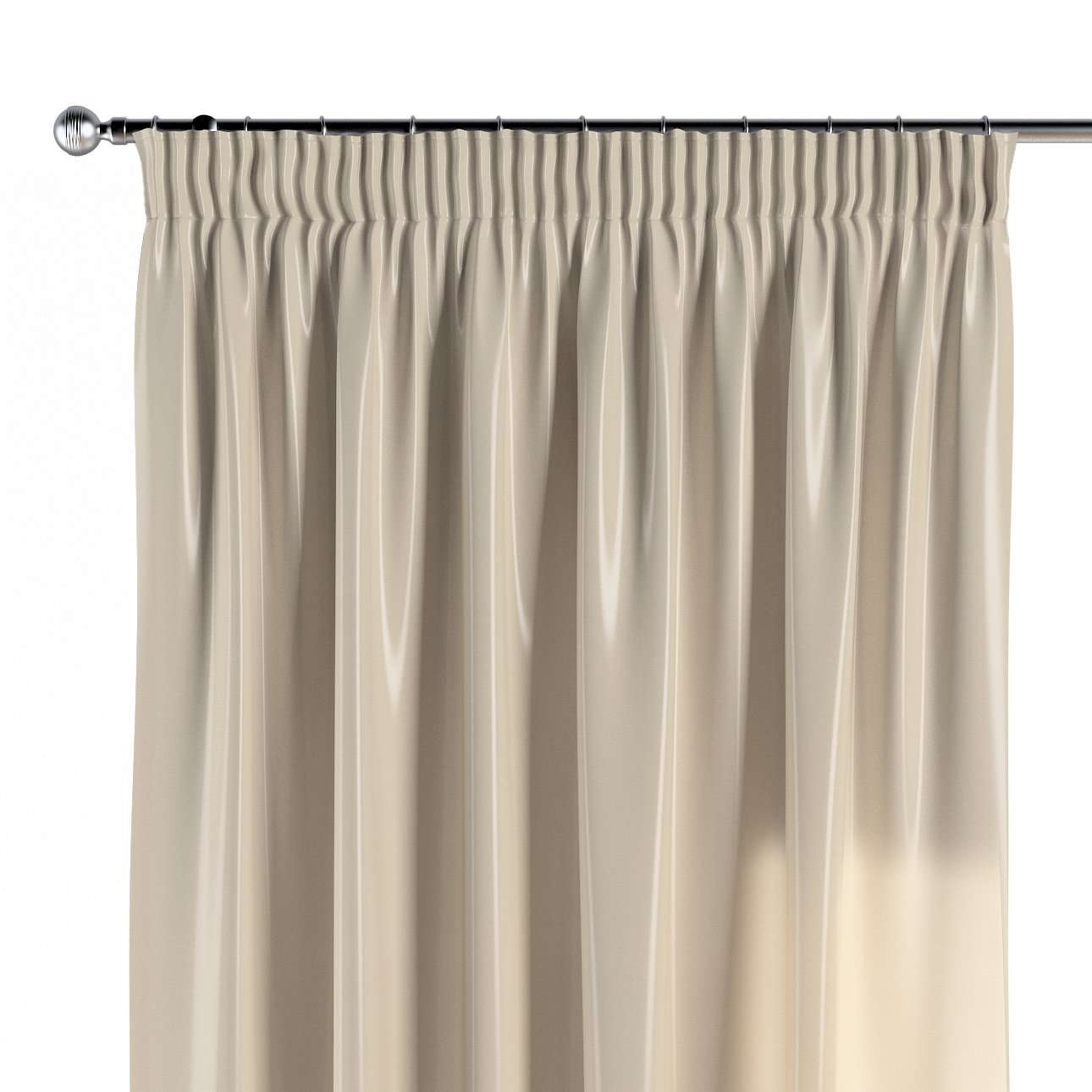 Pencil pleat curtains in collection Christmas, fabric: 141-73