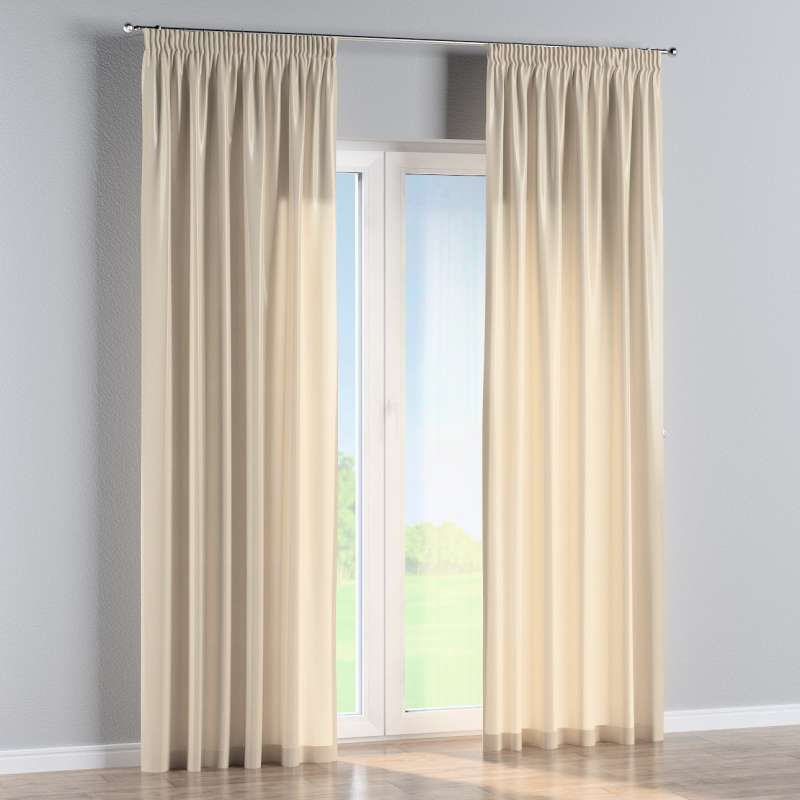 Pencil pleat curtain in collection Christmas, fabric: 141-73