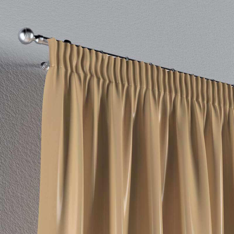 Pencil pleat curtains in collection Christmas, fabric: 141-75