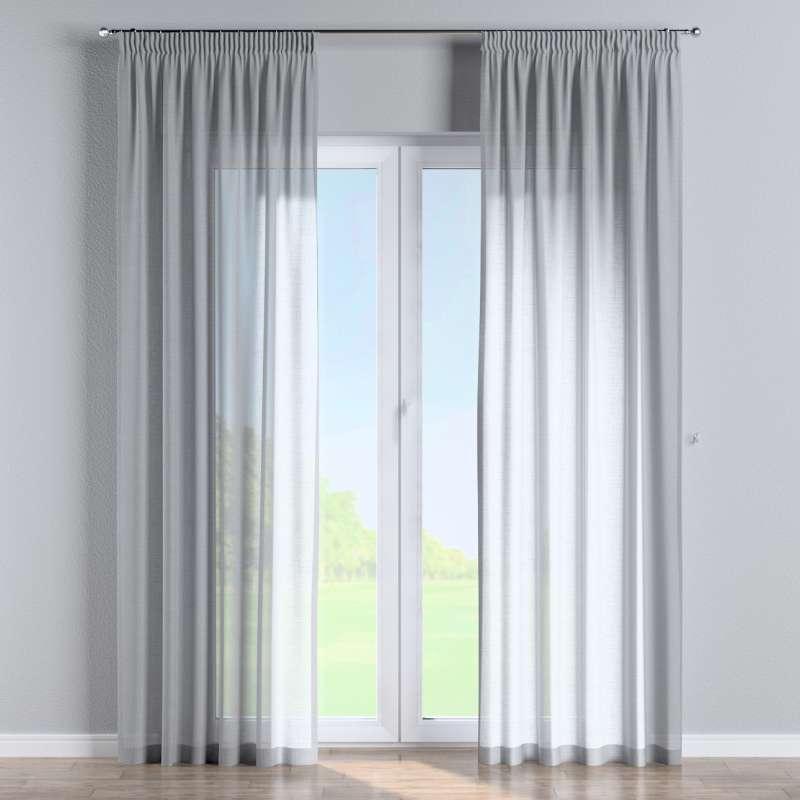 Pencil pleat curtain in collection Romantica, fabric: 142-90