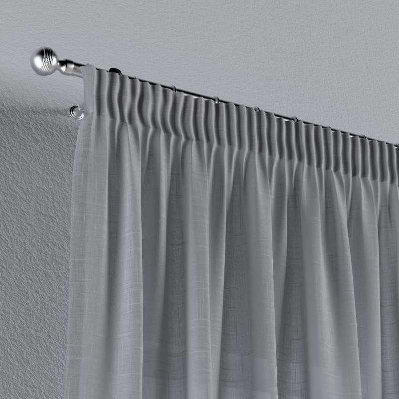 Vorhang mit Kräuselband von der Kollektion Romantica, Stoff: 142-90