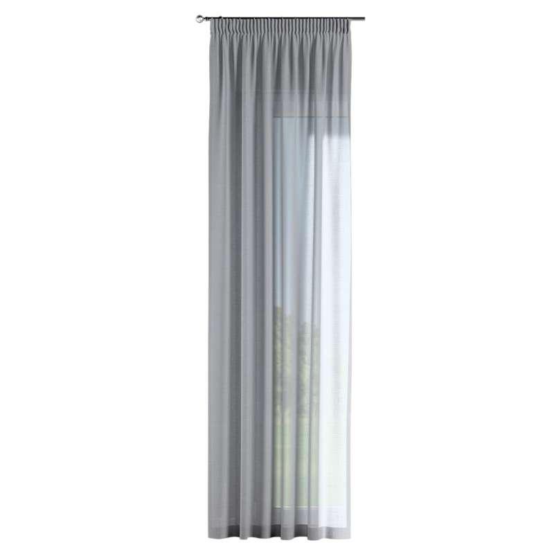 Gardin med rynkband 1 längd i kollektionen Romantica, Tyg: 142-90
